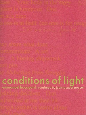 Conditions of Light by Emmanuel Hocquard
