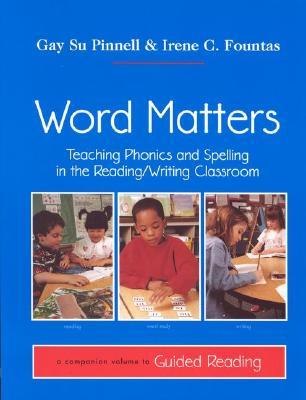 Word Matters by Gay Su Pinnell