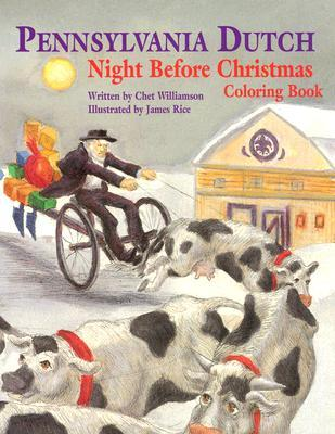 Pennsylvania Dutch Night Before Christmas Coloring Book