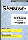 Introduction to Sociology: As Appears on Wikibooks, a Project of Wikipedia