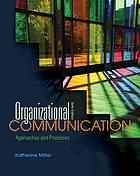 Organizational Communication by Katherine Miller