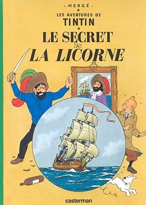 Le secret de la Licorne by Hergé
