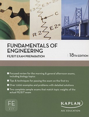 Fundamentals of Engineering FE/EIT Exam Prep by David Arterburn