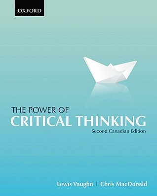 Power of Critical Thinking by Lewis Vaughn