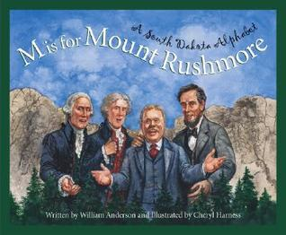M is for Mount Rushmore by William Anderson