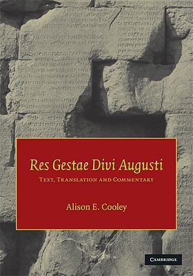 Res Gestae Divi Augusti: Text, Translation, and Commentary