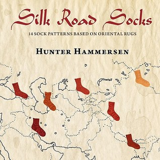 Silk Road Socks by Hunter Hammersen