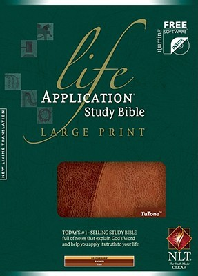 Life Application Study Bible-NLT-Large Print by Anonymous