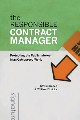 The Responsible Contract Manager by Steven Cohen