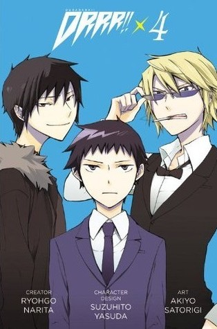 Manga Review: Durarara Volume 4