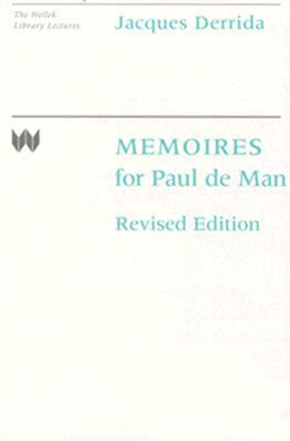 Memoires by Jacques Derrida