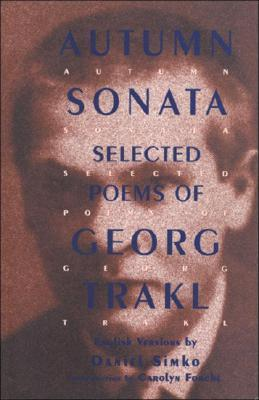 Autumn Sonata by Georg Trakl