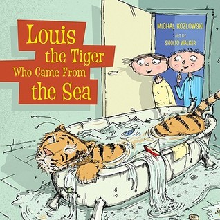 Louis the Tiger Who Came from the Sea by Michal Kozlowski