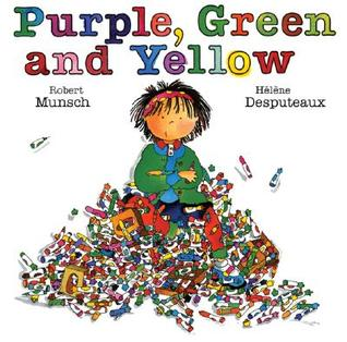 Purple, Green, and Yellow
