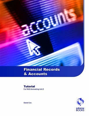 Financial Records And Accounts Tutorial by David A. Cox