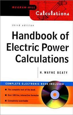 Handbook of Electric Power Calculations [With CDROM]