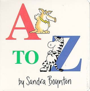 A to Z by Sandra Boynton