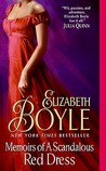Memoirs of a Scandalous Red Dress (Bachelor Chronicles, #5)