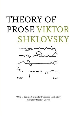 Theory of Prose by Viktor Shklovsky