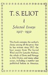 Selected Essays by T.S. Eliot