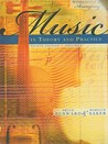 Workbook to Accompany Music in Theory and Practice, Volume 1workbook to Accompany Music in Theory and Practice, Volume 1 with Finale Discount Sticker with Finale Discount Sticker