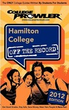 Hamilton College 2012: Off the Record