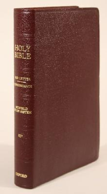 Old Scofield Study Bible-KJV-Classic: 1917 Notes