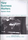 New Business Matters Teacher's Book: Business English With A Lexical Approach