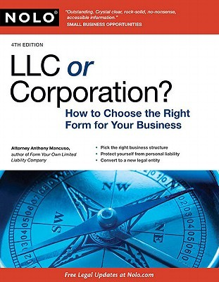 LLC or Corporation? by Anthony Mancuso