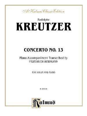 Concerto No. 13 (String- Violin and Piano) by Friedrich Hermann