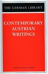 Contemporary Austrian Writings