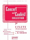 Concert And Contest Collection   C Flute: C Flute   Piano Accompaniment (Rubank Educational Library)