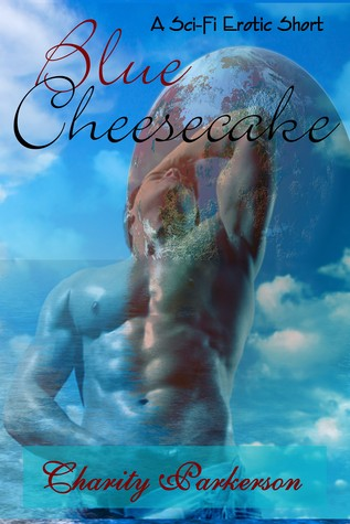 Blue Cheesecake by Charity Parkerson