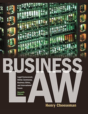 Business Law by Cheeseman