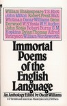 Immortal Poems of the English Language