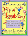 The Adventures of Pippi Longstocking (Pippi Longstocking, #1-3)