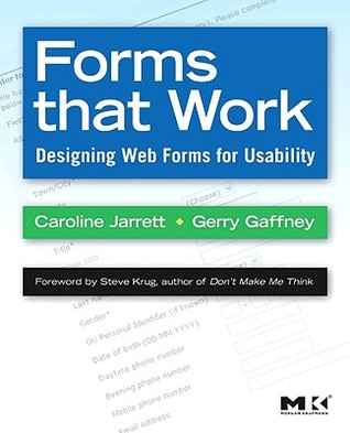 Forms that Work by Caroline Jarrett