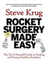 Rocket Surgery Made Easy by Steve Krug