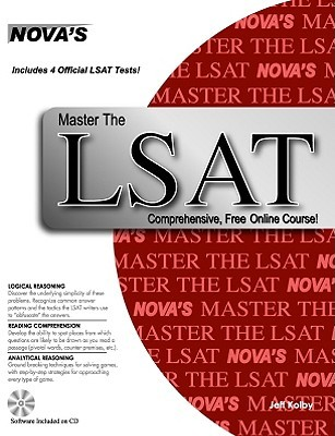 Master the LSAT [With CDROM] by Jeff Kolby