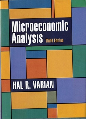 Microeconomic Analysis by Hal R. Varian