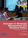 Concepts in Strategic Management and Business Policy: Achieving Sustainability