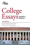 College Essays that Made a Difference, 4th Edition