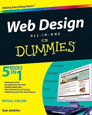 Web Design All-In-One for Dummies by Sue Jenkins