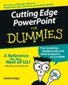 Cutting Edge PowerPoint for Dummies [With CD-ROM]