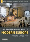 The Cambridge Economic History of Modern Europe, 2-Volume Set by Stephen Broadberry