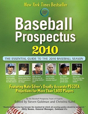 Baseball Prospectus 2010 by Steven Goldman