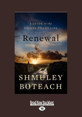 Renewal by Shmuley Boteach