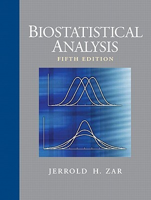 Biostatistical Analysis by Jerrold H. Zar