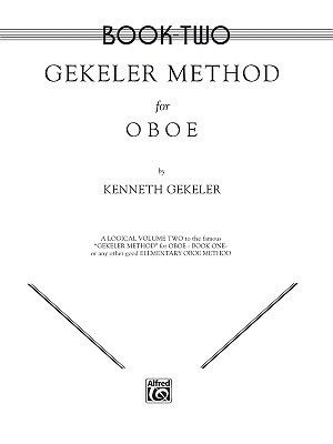Gekeler Method for Oboe, Bk 2