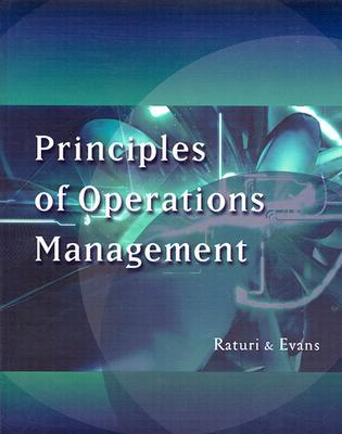 Principles of Operations Management [With CDROM]